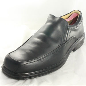 CROFT & BARROW Tristin Black Leather Mens Loafers